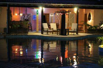 bar nuit vue piscine villa diego antsiranana diego-suarez