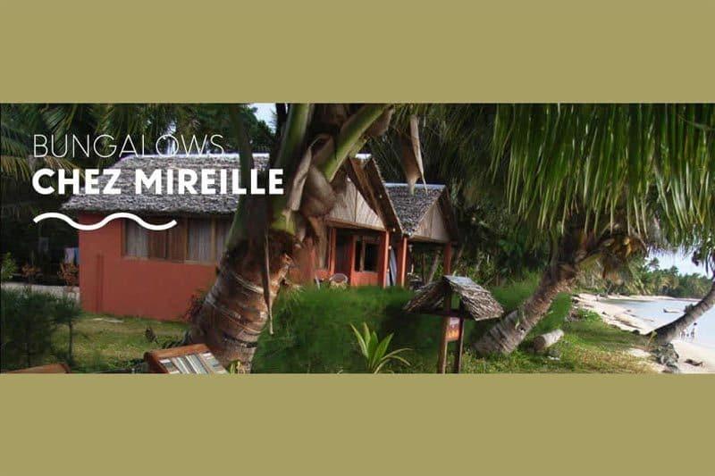 Bungalows chez mirielle à Sainte-Marie - Madagascar