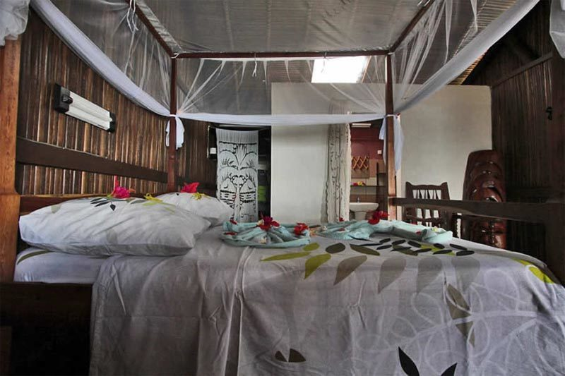 Bungalows chez yloande à Nosy Komba - Madagascar