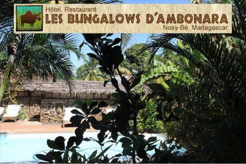Ambonara bungalows in Nosy Be - Madagascar