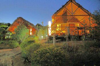 bungalows nuit villa diego antsiranana diego-suarez
