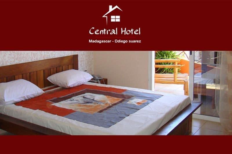 Central hôtel à Diego-Suarez - Madagascar