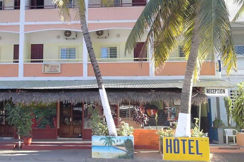 Central hôtel à Mahajunga - Madagascar