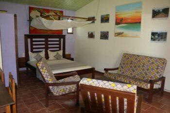 chambre double hotel de la baie antsiranana diego suarez
