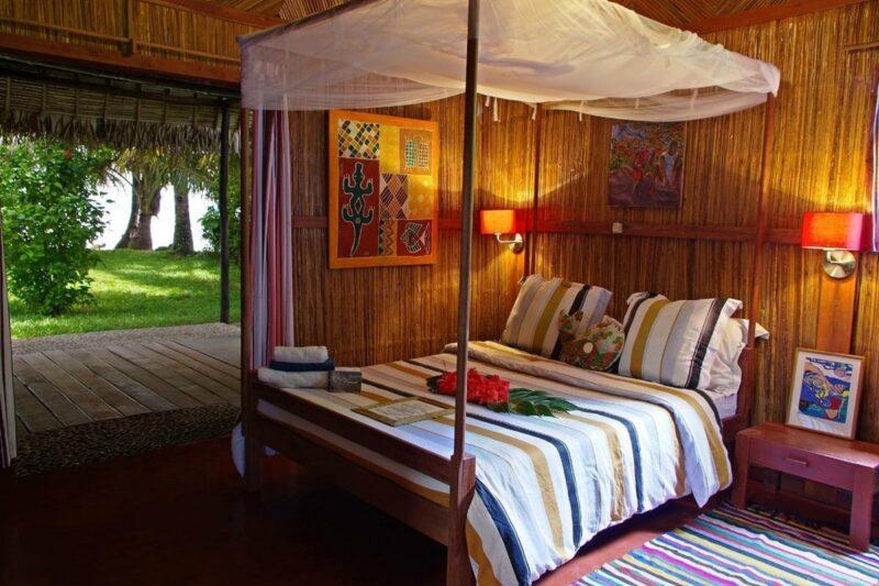 chambre double villas de vohilava sainte marie