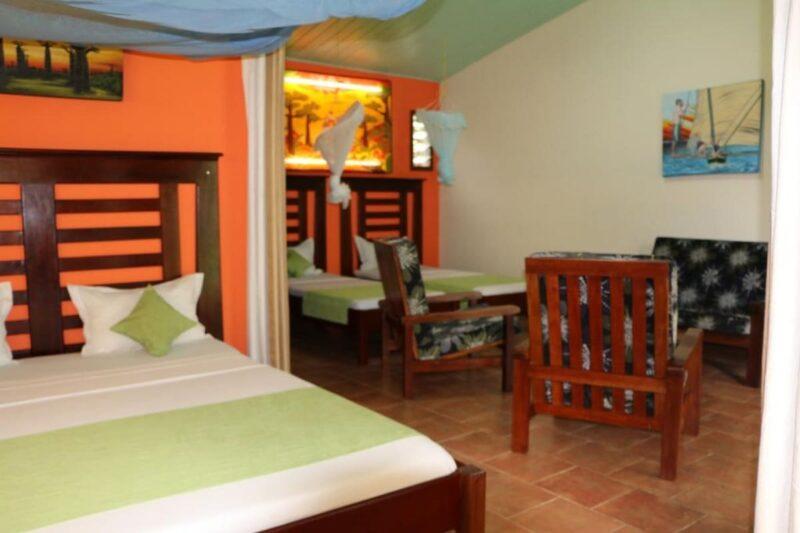 chambre familiale hotel de la baie antsiranana diego suarez