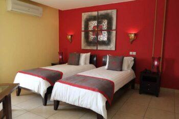 chambre twin hotel joffre tamatave
