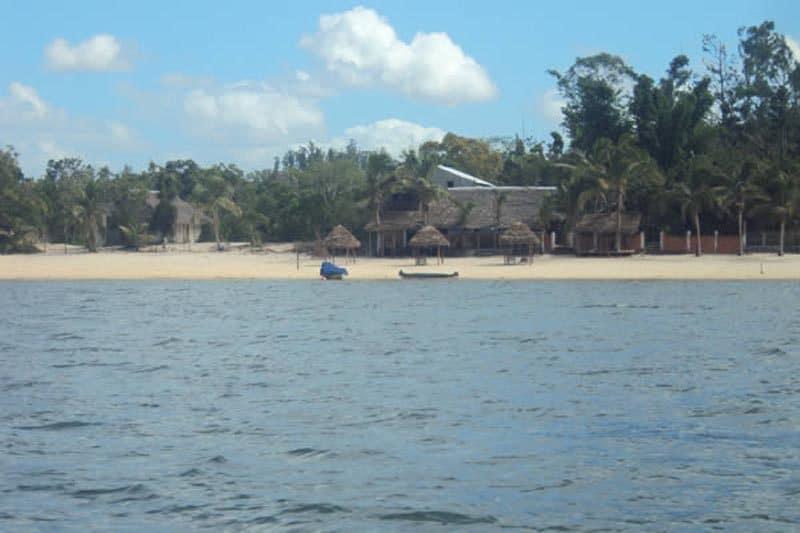 Chez luigi à Mahambo - Madagascar