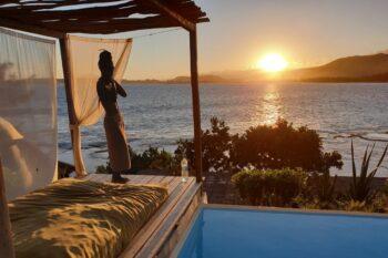 coucher soleil talinjoo hotel tolanaro fort dauphin