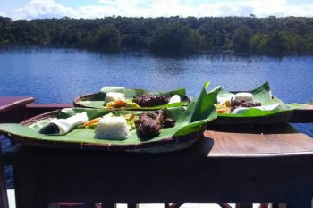 dejeuner croisiere acacias bungalows manambato pangalanes