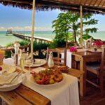 dejeuner terrasse villas de vohilava sainte marie