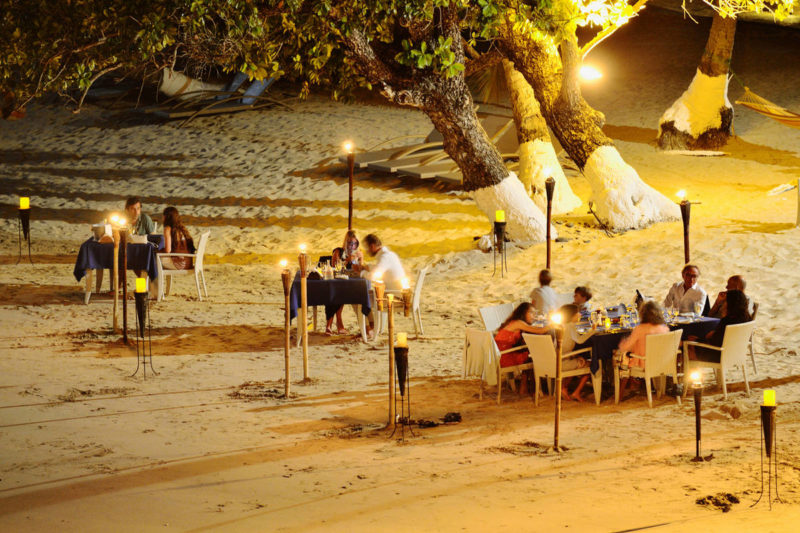 diner famille andilana beach resort nosy be