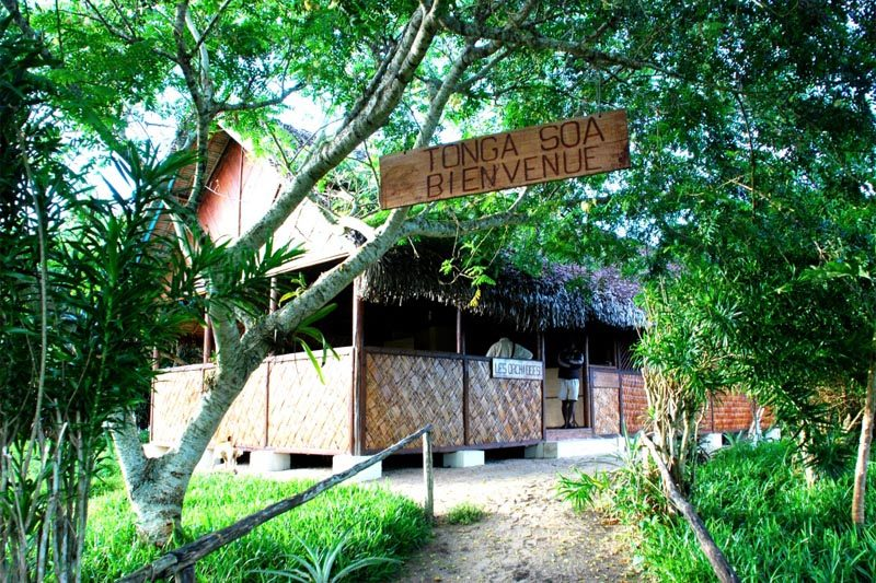 Ecolodges the orchids in Mahambo - Madagascar