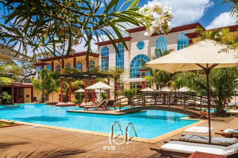 Basen Grand Hotel Colbert w Diego-Suarez