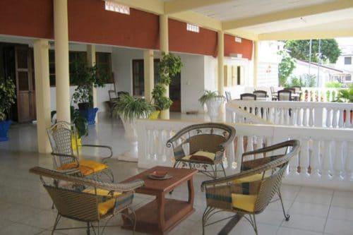 Hotel Crossroads w Sambava - Madagaskar