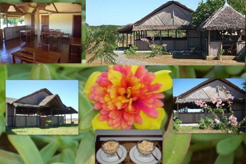 Hotel de l'ankarana à Madagascar