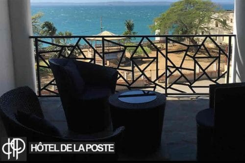 Post Hotel in Diego-Suarez - Madagascar