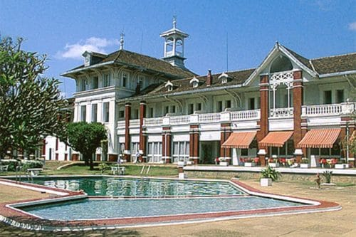 Hotel of the baths in Antsirabe - Madagascar