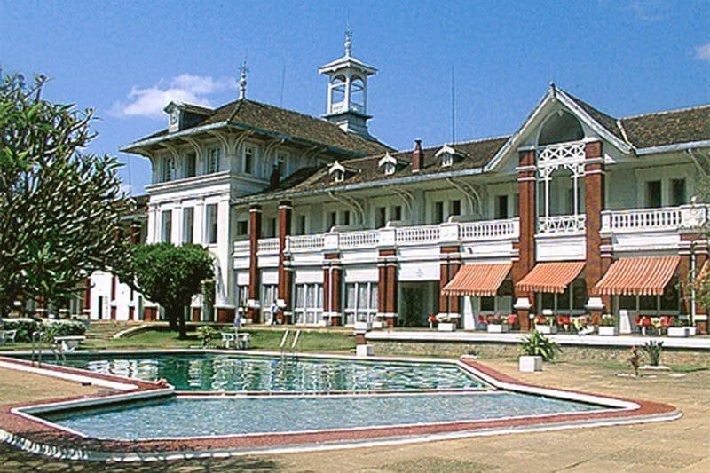 Hôtel des thermes à Antsirabe - Madagascar