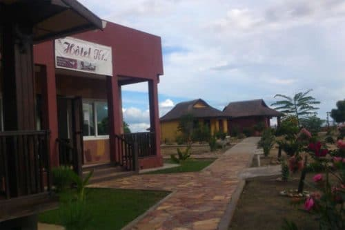 Hôtel H1 à Ranohira - Madagascar