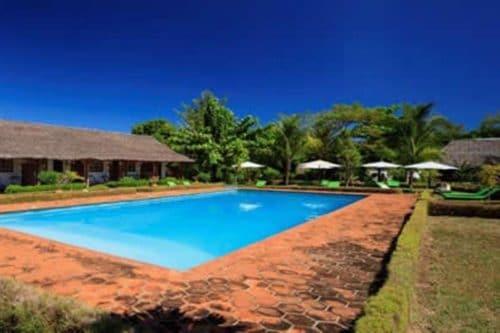 Garden Hotel in Nosy Be - Madagascar