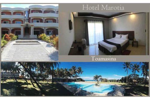 Hotel Marotia w Tamatave - Madagaskar