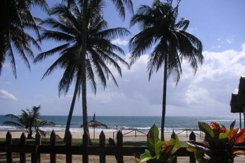 Hotelowa restauracja Paradise w Sambava - Madagaskar