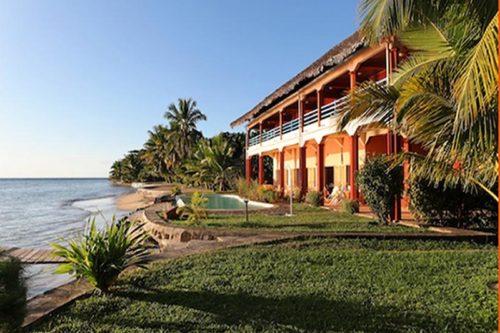 Vanivola Hotel w Sainte-Marie - Madagaskar