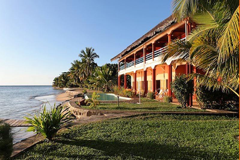 Hôtel Vanivola à Sainte-Marie - Madagascar