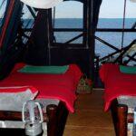 interieur tente babaomby island lodge diego suarez
