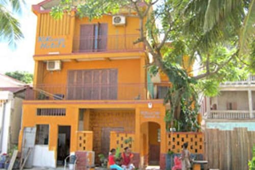 Hotel Kikoo w Diego-suarez - Madagaskar