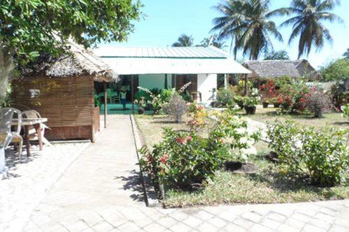Hotel la Paillotte w Sambava - Madagaskar