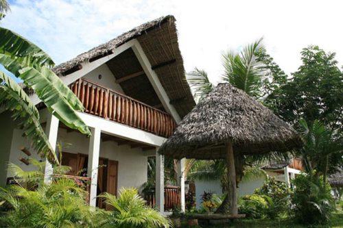 Hôtel du pirogue w Mahambo - Madagaskar