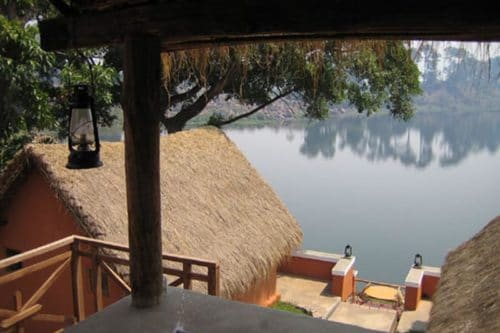 Ampefy's terrace at Ampefy - Madagascar