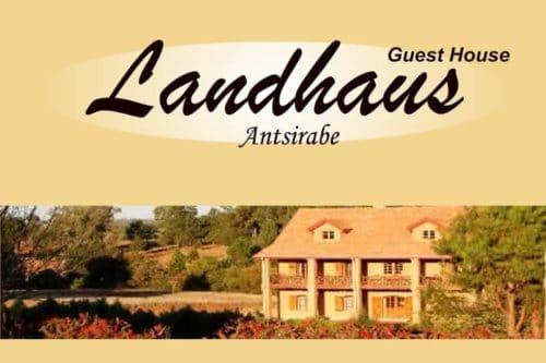 Landhaus hotel in Antsirabe - Madagascar