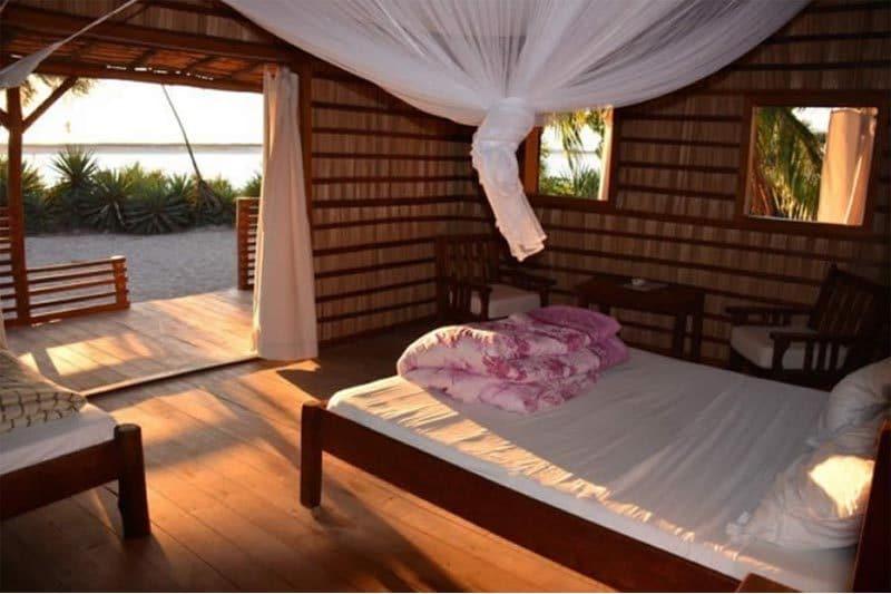 Hôtel le dauphin vezo à Morondava - Madagascar