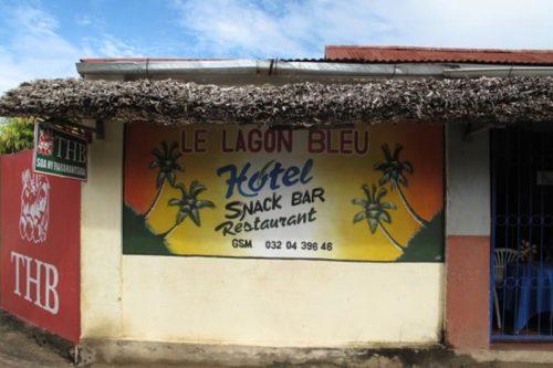 Hôtel le lagon bleue à Vohemar - Madagascar
