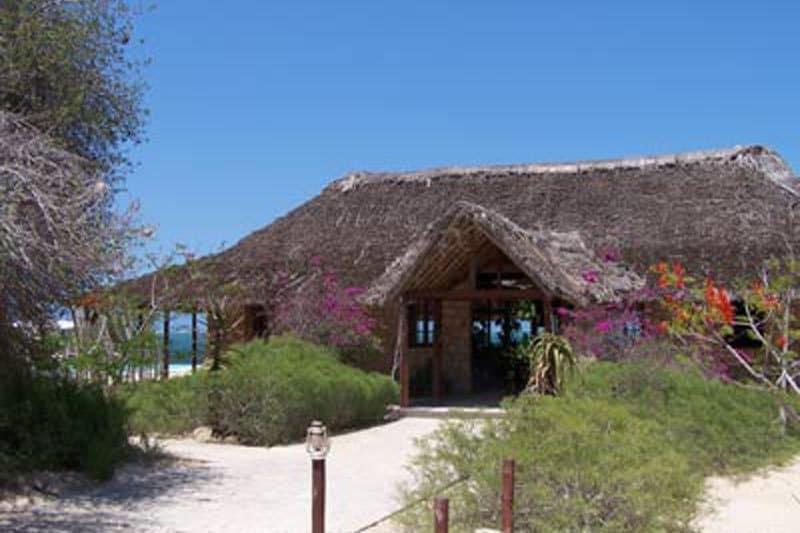 Hotel le paradisier w Ifaty - Madagaskar