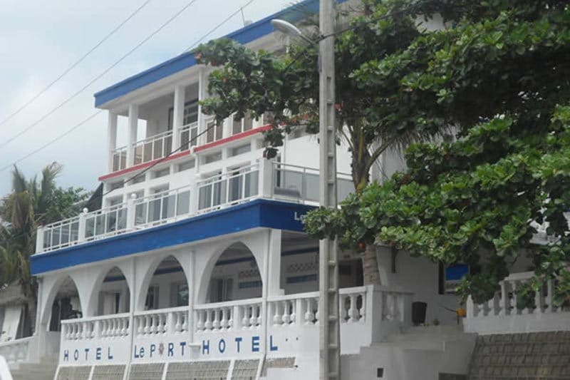Le port hôtel à Fort dauphin - Madagascar
