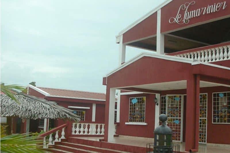 Hotel Tamarinier w Mahajunga - Madagaskar