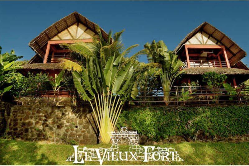 Le vieux fort à Sainte-Marie - Madagascar