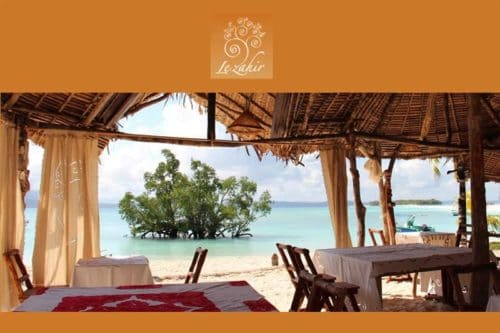 Il lodge zahir a Nosy Be - Madagascar