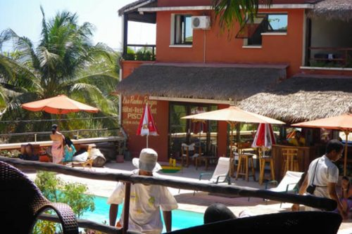 Hotel delle rocce rosse a Mahajunga - Madagascar