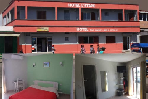 Hotel upstairs in Tamatave - Madagascar