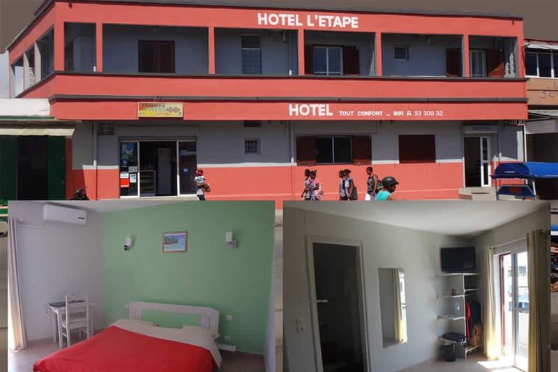 Hotel na piętrze w Tamatave - Madagaskar