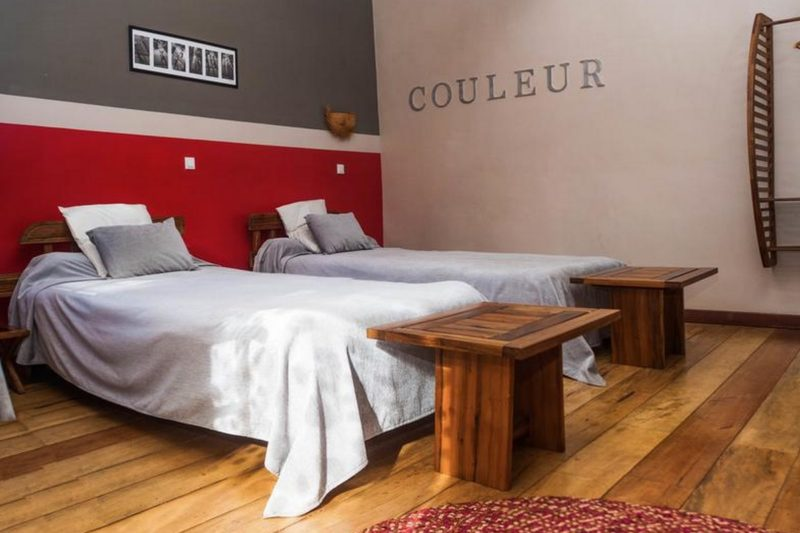 lit twin couleur cafe antsirabe