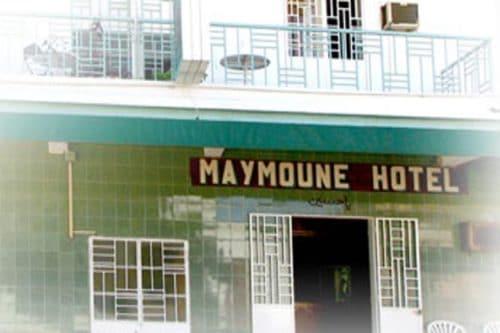 Hotel Maymoune w Diego-suarez - Madagaskar