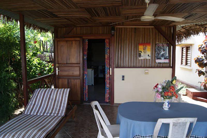 Palm rouge à Nosy Be - Madagascar