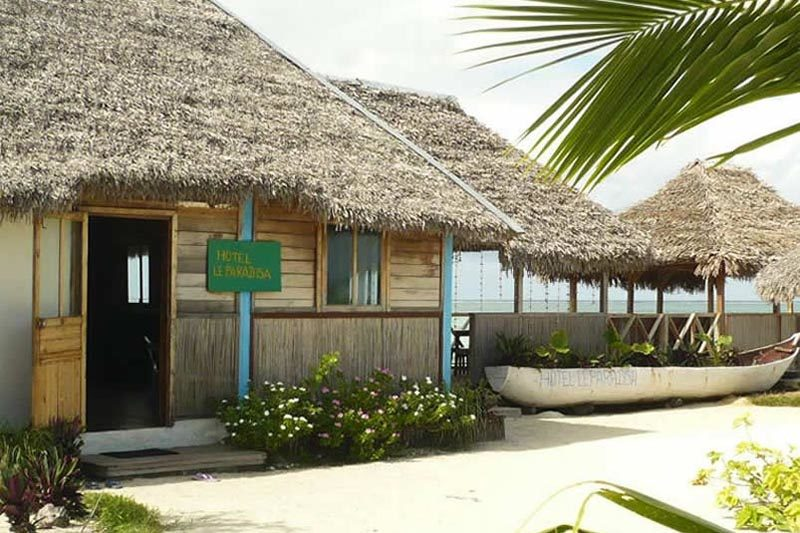Paradisa Camping w Sainte-Marie - Madagaskar
