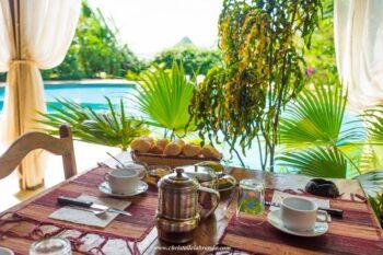 petit dejeuner villa diego antsiranana diego-suarez